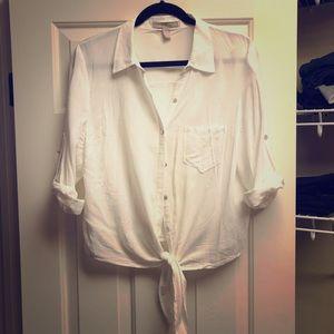 Cute long sleeves casual shirt